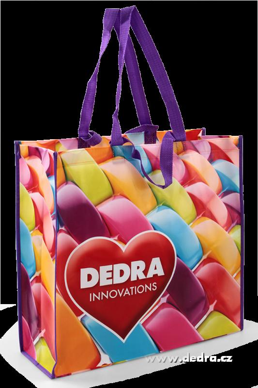 Velká taška s laminací City bag - color