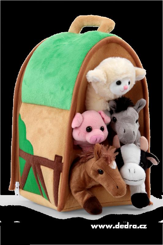 Plyšový domeček - Farma se zvířátky