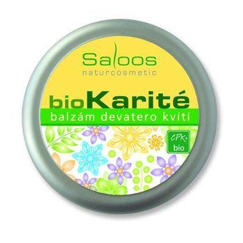 Saloos Bio Karité balzám - Devatero kvítí 50ml