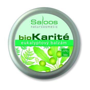Saloos Bio Karité balzám - Eukalyptový 50ml