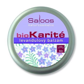 Saloos Bio Karité balzám - Levandulový 50ml