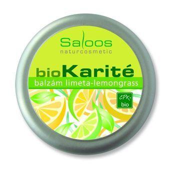 Saloos Bio Karité balzám - Limeta-lemongrass 50ml