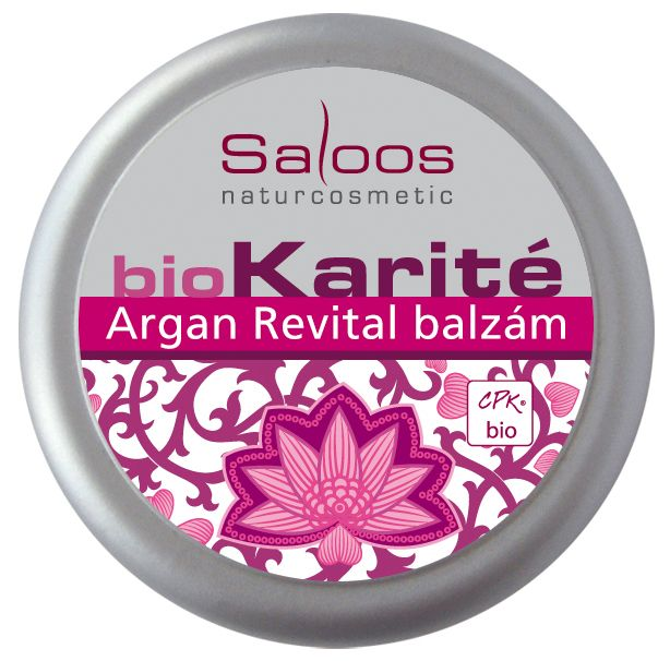 Saloos Bio Karité do kapsy - Argan Revital 19ml
