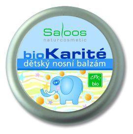 Saloos Bio Karité do kapsy - Dětský nosní balzám 19ml
