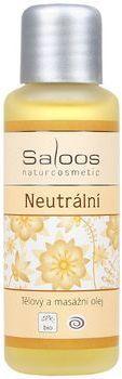 Saloos Bio tělový a masážní olej 50ml - Neutrální