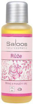 Saloos Bio tělový a masážní olej 50ml - Růže