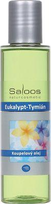 Saloos Koupelový olej - Eukalypt-Tymián 125ml
