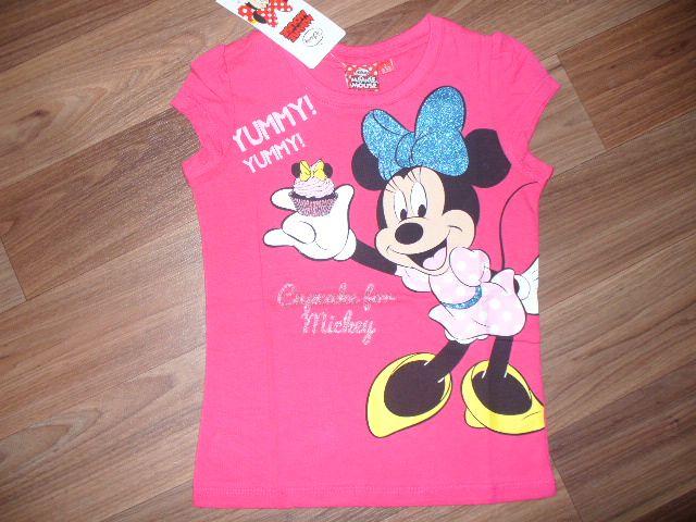 Dívčí tričko - Minnie, vel. 110