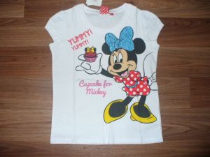 Dívčí tričko - Minnie, vel. 98/104