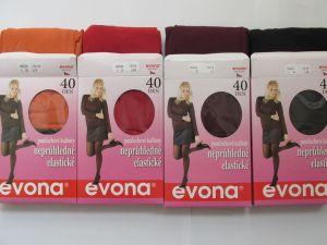 Dámské neprůhledné punčochové kalhoty MAGDA Evona - 4 barvy, vel. 164-176