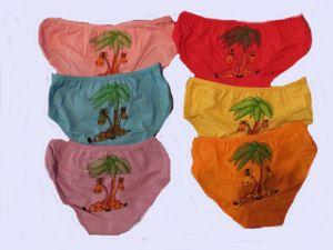 Dívčí spodní kalhotky - žirafa, vel. 6-8let Elevek