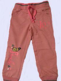 Dívčí tepláky Kugo sv.růžová, vel.98-122