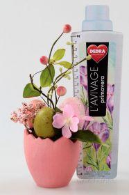 Velikonoční dekorace Květináč s vajíčky růžový Dedra