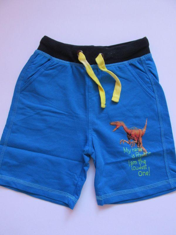 Chlapecké kraťasy/šortky Wolf modré, vel. 104