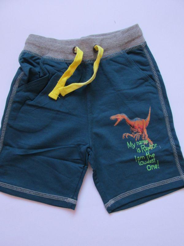 Chlapecké kraťasy/šortky Wolf petrolejové, vel. 104