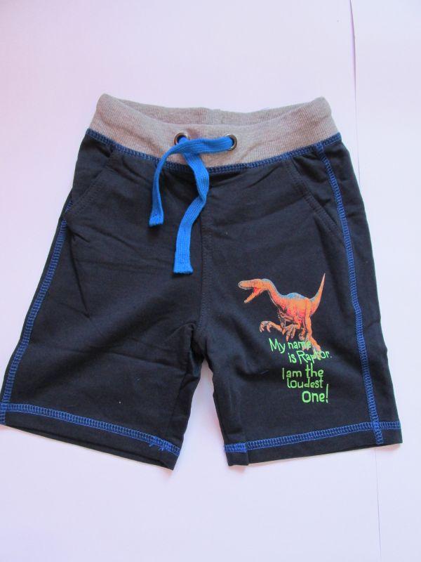 Chlapecké kraťasy/šortky Wolf tmavě modré, vel. 98