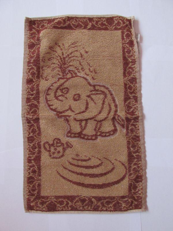 Dětský ručník 29x47cm, slůně hnědé Frotex