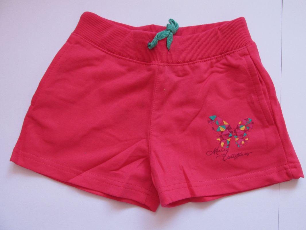 Dívčí kraťasy/šortky Kugo lososové, vel. 122