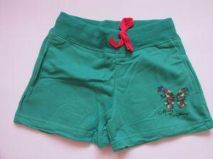 Dívčí kraťasy/šortky Kugo zelené, vel. 116-128