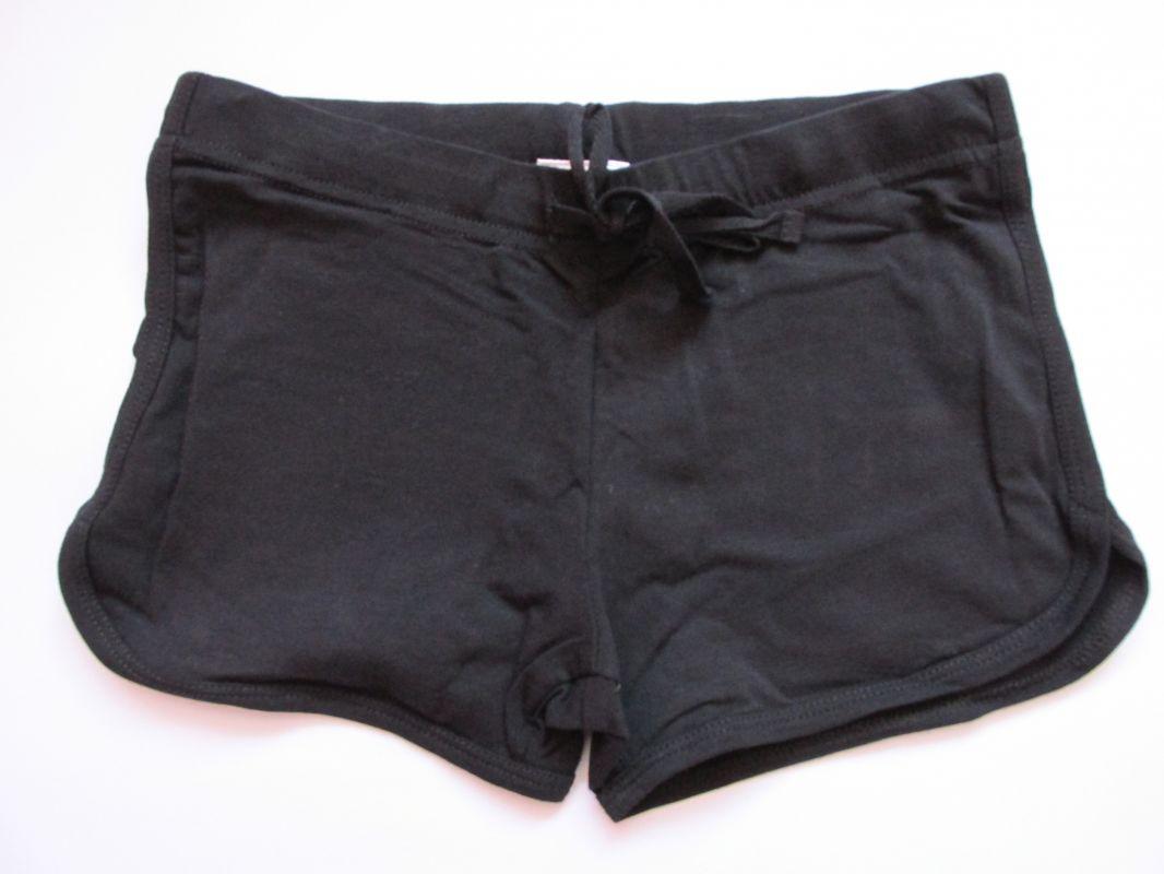 Dívčí kraťasy/šortky Wolf černé, vel. 134