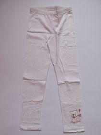 Dívčí legíny N-FEEL bílé vel.122-146