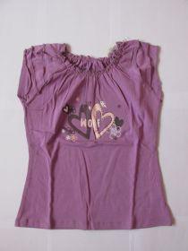 Dívčí tričko se zdobenými rukávky, vel. 104
