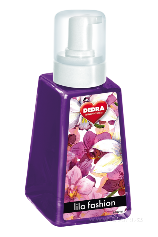 Pěna na ruce HANDS UP - Lila fashion 285ml Dedra
