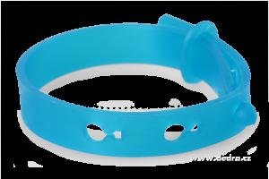 Repelentní náramek k odpuzování komárů a hmyzu - modrý