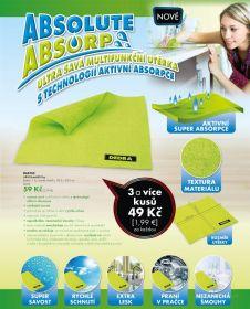 Ultra savá multifunkční utěrka ABSOluteABSOrp 28,5 x 28,5 cm Dedra
