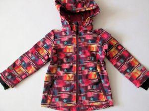 Dívčí softshellová bunda s fleesem Wolf fialový podklad