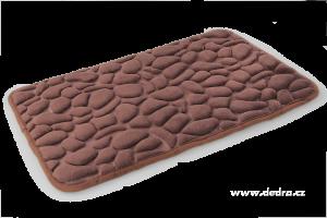 Koupelnová předložka ANATOMIXX čokoládová