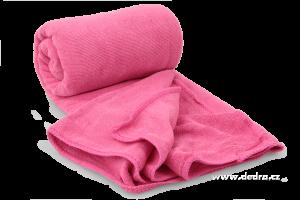 Ultrasavá podložka/ručník XXL - fuchsiová Dedra