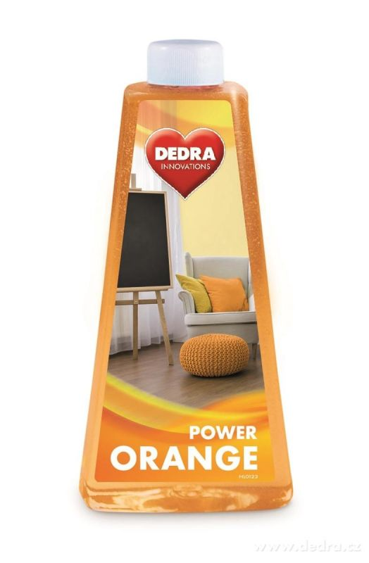 Čistič na podlahy ORANGE POWDER 500ml Dedra