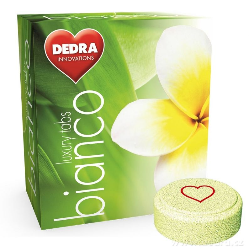 Dedra BIANCO prací tablety na bílé prádlo 25ks
