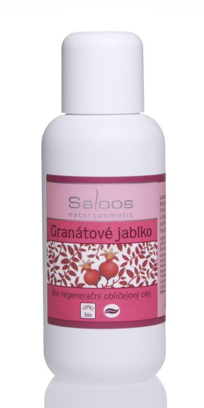 Saloos Bio regenerační obličejový olej 100ml - Granátové jablko