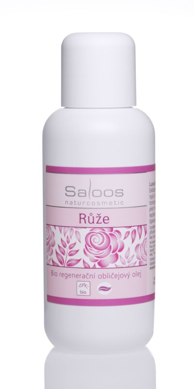 Saloos Bio regenerační obličejový olej 100ml - Růže