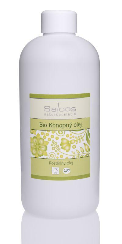 Saloos Bio Rostlinný olej Konopný 500ml