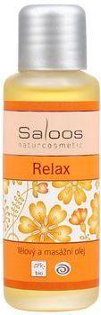 Saloos Bio tělový a masážní olej 125ml - Relax