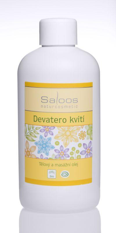Saloos Bio tělový a masážní olej 250ml - Devatero kvítí