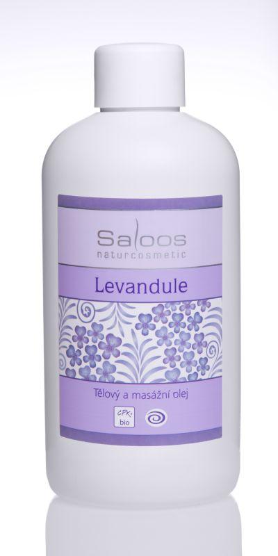 Saloos Bio tělový a masážní olej 250ml - Levandule