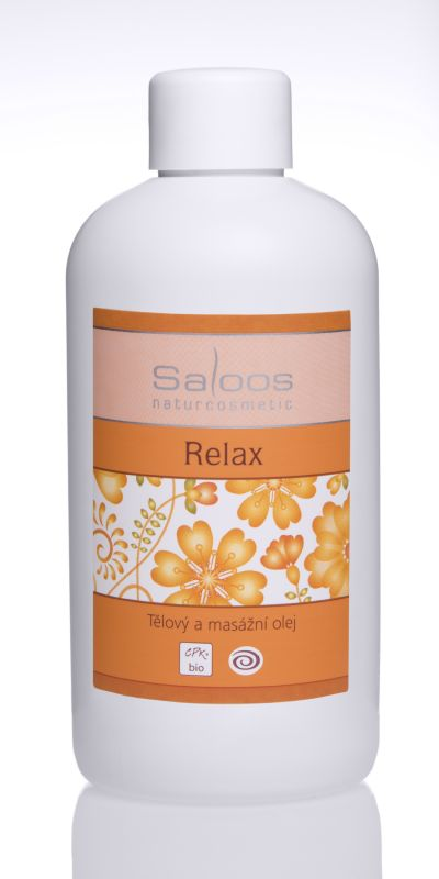 Saloos Bio tělový a masážní olej 500ml - Relax