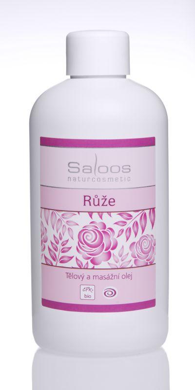 Saloos Bio tělový a masážní olej 500ml - Růže