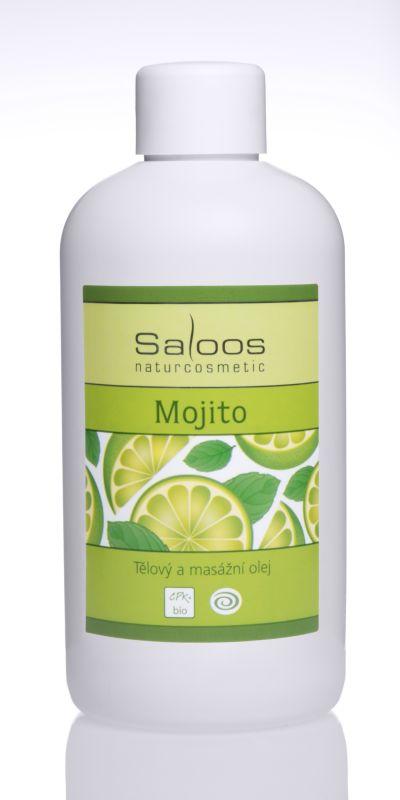 Saloos Bio tělový a masážní olej - Mojito 500ml