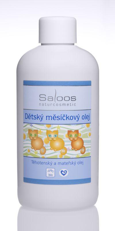 Saloos Dětský měsíčkový olej 250ml
