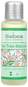 Saloos Hydrofilní odličovací olej - Tea tree-Manuka 500ml