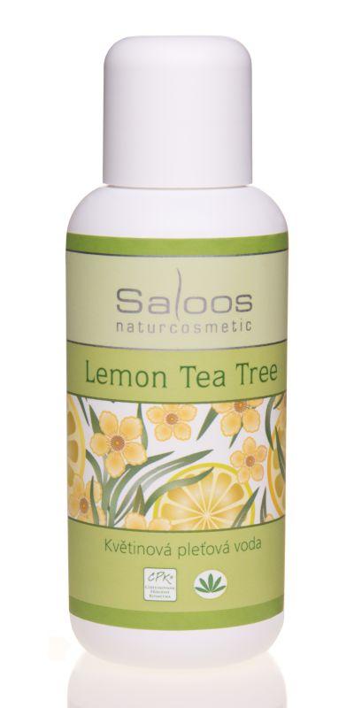 Saloos Květinová pleťová voda - Lemon Tea tree 500ml
