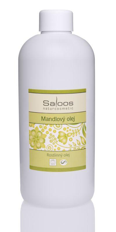 Saloos Rostlinný olej Mandlový 500ml