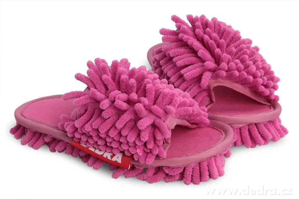 Úklidové botky dětské - lila vel. 31-35 Dedra