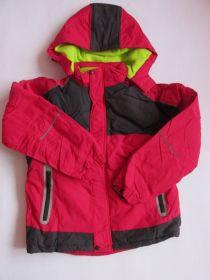 Zimní bunda Kugo s fleesem růžová
