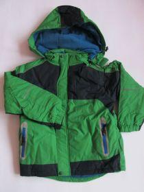 Zimní bunda Kugo s fleesem zelená